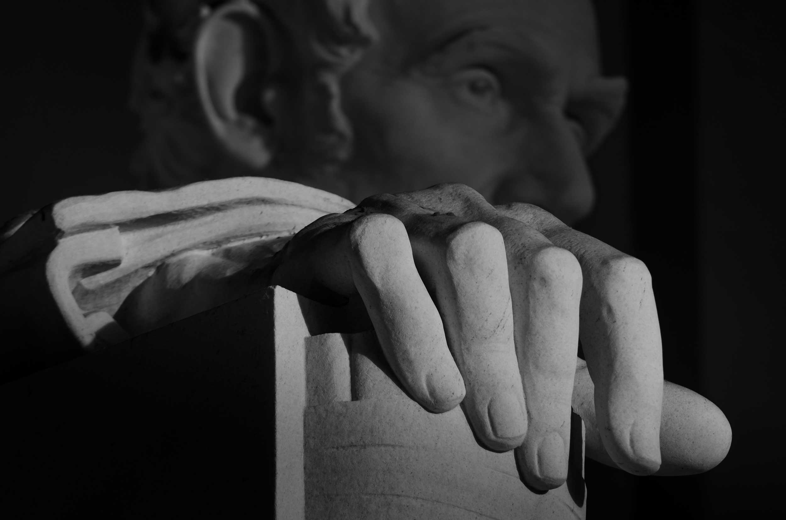 right hand of lincoln